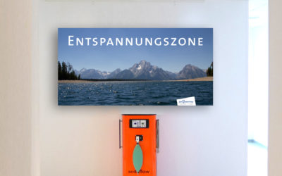 Angst ist out – Ent­span­nung ist in – mit Lach­gas!